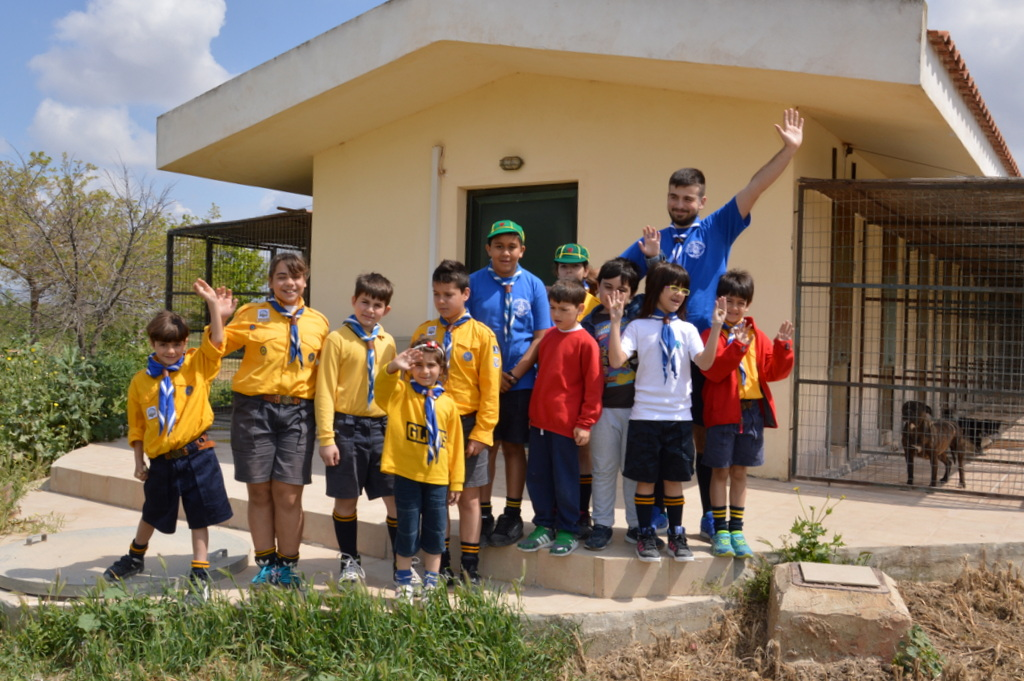 Η 10η αγέλη λυκόπουλων στη Φιλοζωική