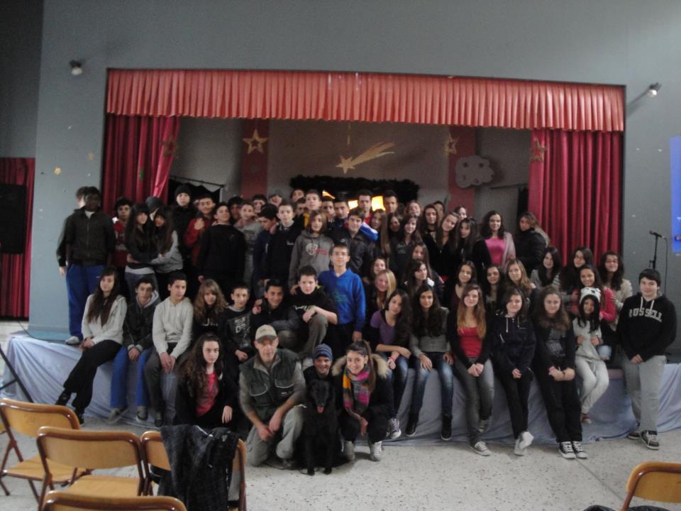 Η Φιλοζωική σε ένα ακόμη σχολείο